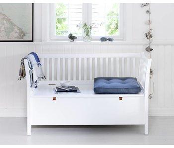 Oliver Furniture Truhenbank mit Sprossen kurz, weiß