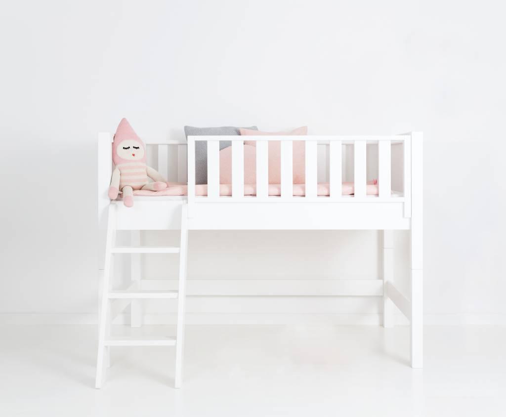 sanders fanny halbhohes hochbett 90 x 160 junior www. Black Bedroom Furniture Sets. Home Design Ideas