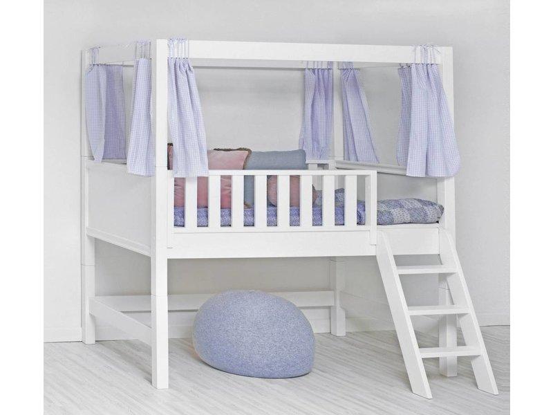 sanders fanny halbhohes hochbett 90 x 160 junior. Black Bedroom Furniture Sets. Home Design Ideas