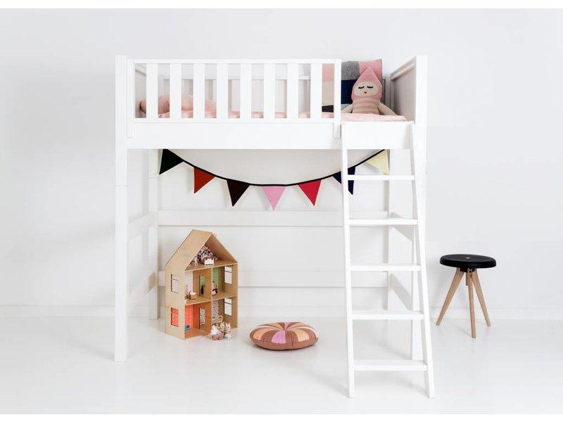 sanders fanny mittelhohes hochbett 90 x 160 junior www. Black Bedroom Furniture Sets. Home Design Ideas