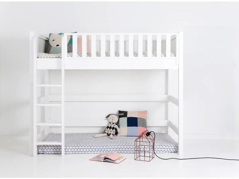 sanders fanny mittelhohes hochbett 90 x 200. Black Bedroom Furniture Sets. Home Design Ideas
