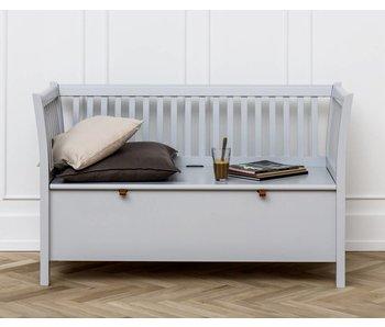 Oliver Furniture Truhenbank mit Sprossen kurz, grau