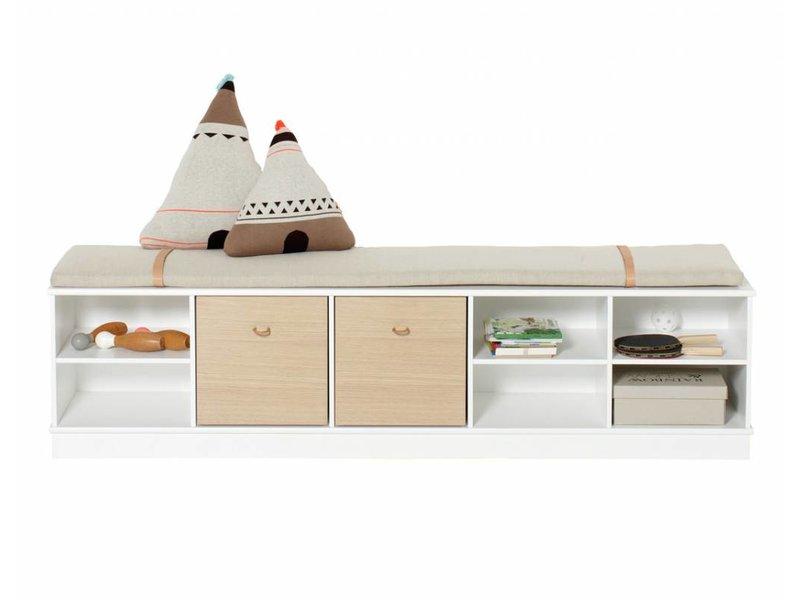 Kindermöbel regal  Oliver Furniture wood collection Regal weiß - www.romy-kindermoebel.de