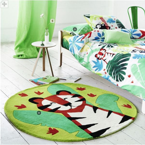 Casadeco Tapeten Playtime : Designers Guild Teppich Jungle Playtime Leaf – www.romy-kindermoebel
