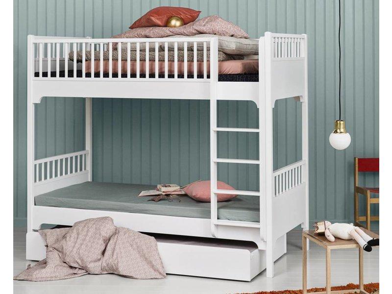 Etagenbett Weiß 90x200 : Oliver furniture etagenbett gerade leiter weiss www.romy