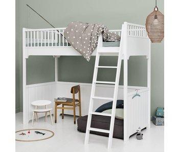 oliver furniture bett hochbett etagenbett seaside www. Black Bedroom Furniture Sets. Home Design Ideas