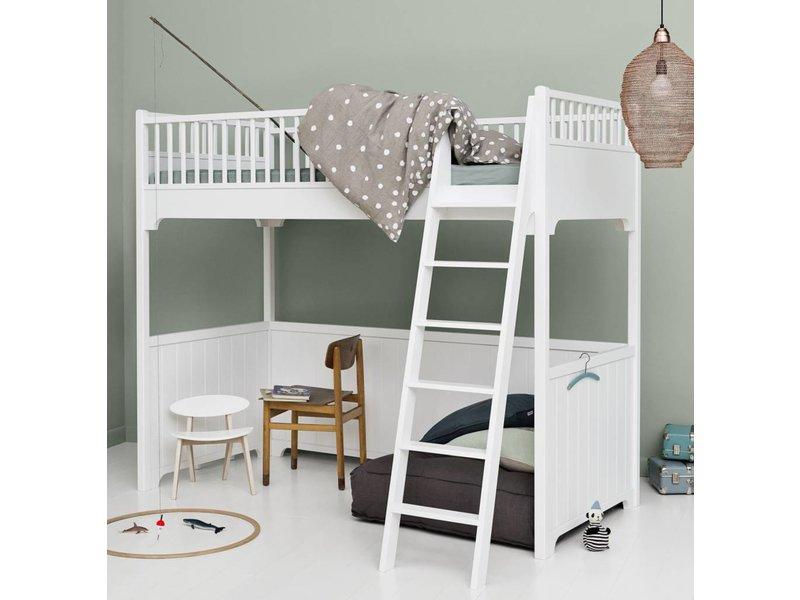 hochbett von oliver furniture in 90 x 200 cm incl. Black Bedroom Furniture Sets. Home Design Ideas