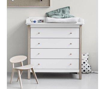 Oliver Furniture Wood Wickelkommode, weiß