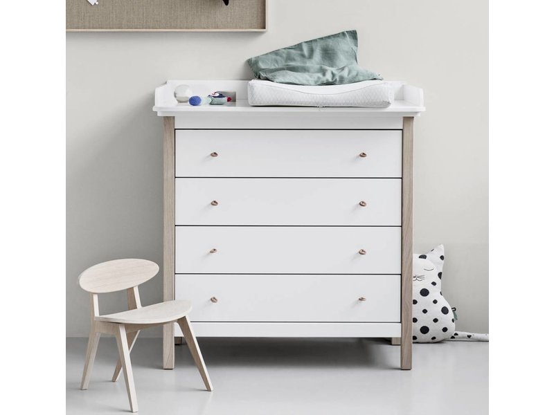 Oliver Furniture Wood Wickelkommode Weiss Eiche Www Romy