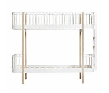 Oliver Furniture Wood Etagenbett Leiter Kopfteil, Eiche