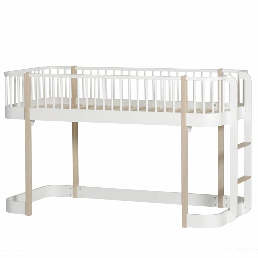 Oliver Furniture Halbhohes Bett Wood Collection Eiche Www Romy