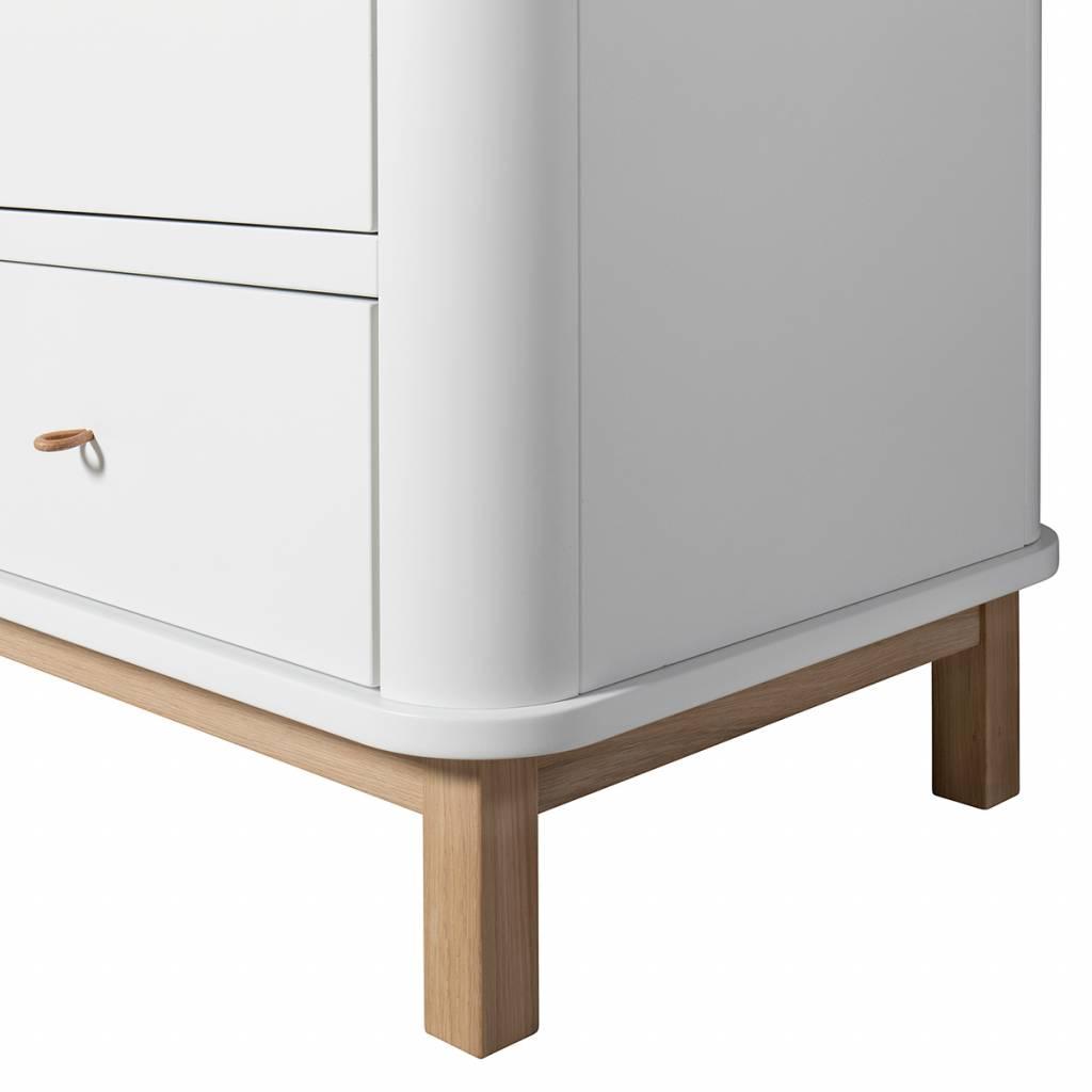 Oliver Furniture großer Wood Kleiderschrank 3-türig Eiche - www ...