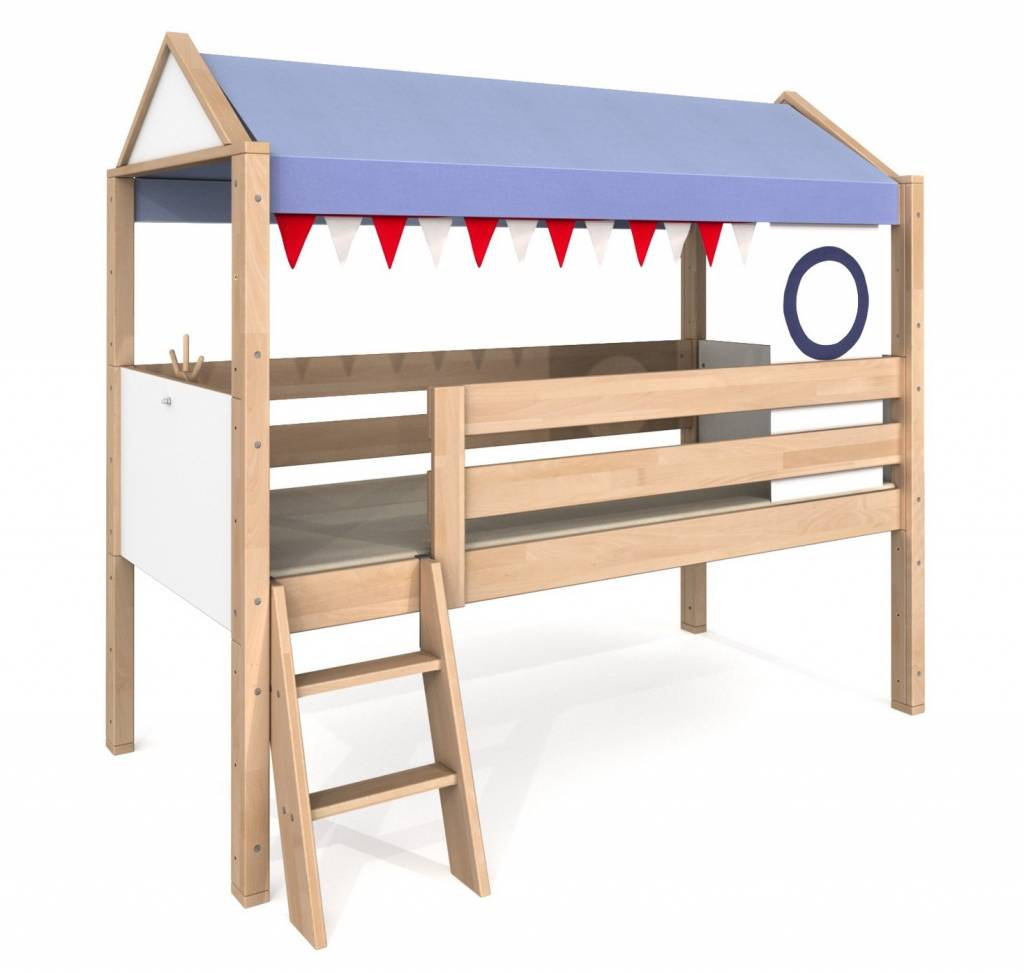 de breuyn spielbett fluss pirat delite. Black Bedroom Furniture Sets. Home Design Ideas