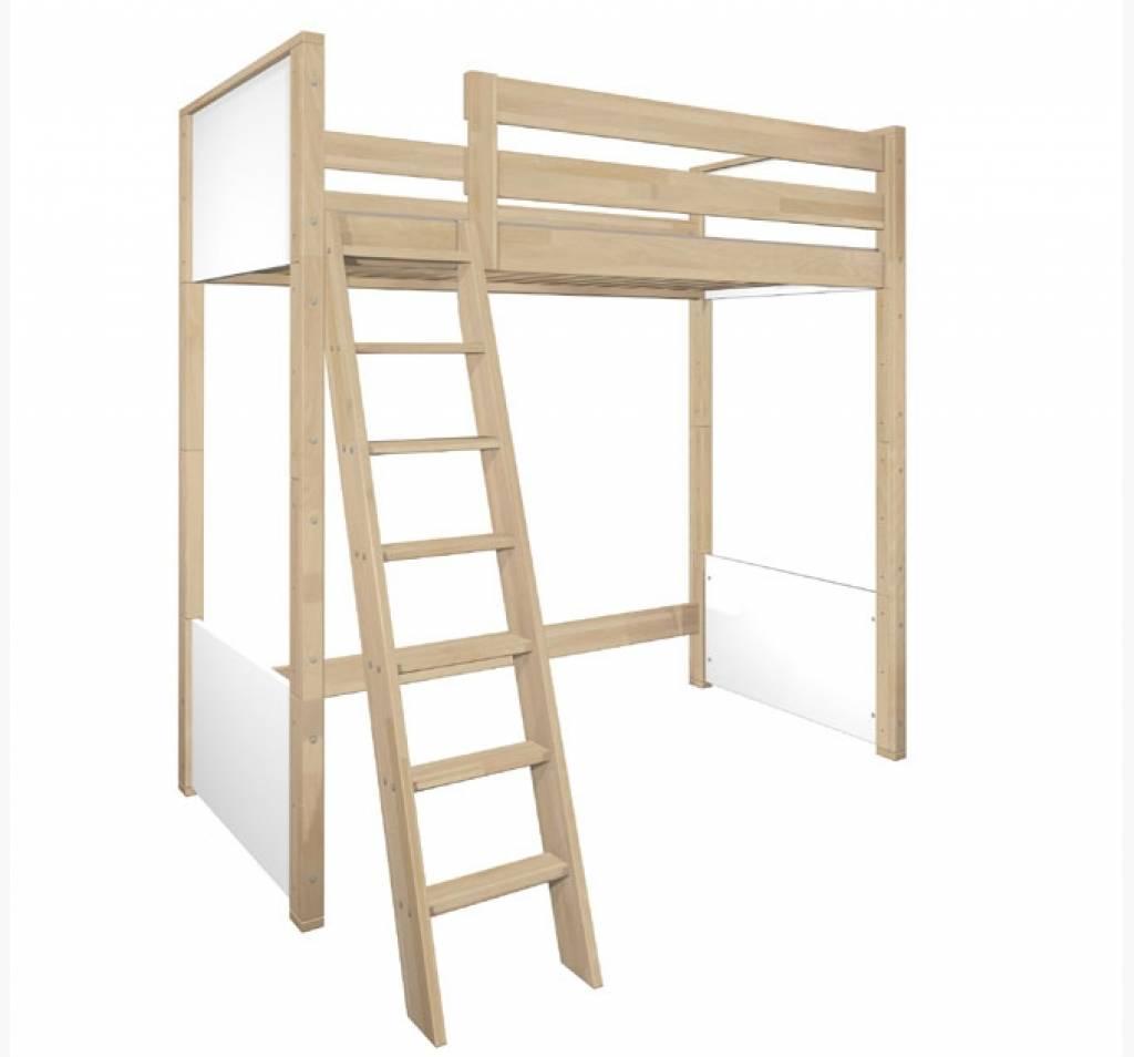 de breuyn hochbett mit kleiderschrank www. Black Bedroom Furniture Sets. Home Design Ideas