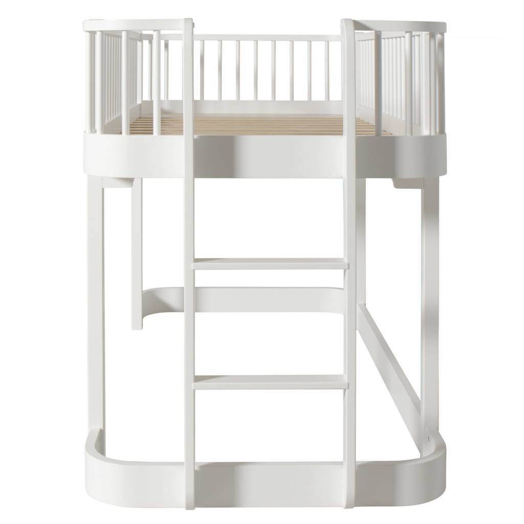 Halbhohes Bett Wood Von Oliver Furniture Www Romy Kindermoebel De