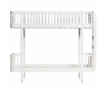 Oliver Furniture Wood Etagenbett Leiter Kopfteil, weiß