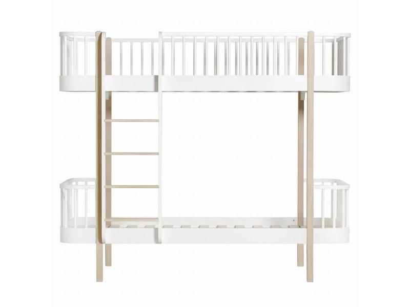 ... Eiche Oliver Furniture Etagenbett Wood Mit Leiter Vorne, ...
