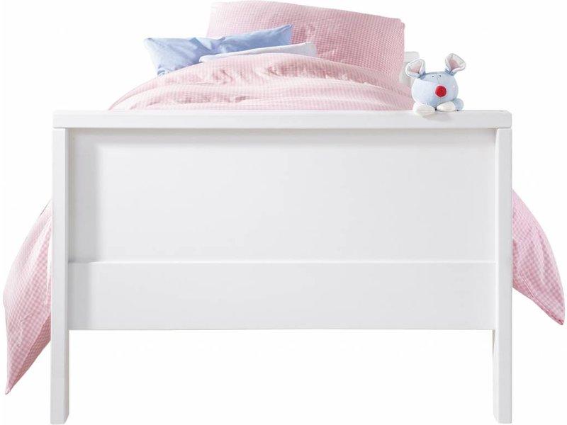 haba matti bett buche weiss 100 x 200. Black Bedroom Furniture Sets. Home Design Ideas