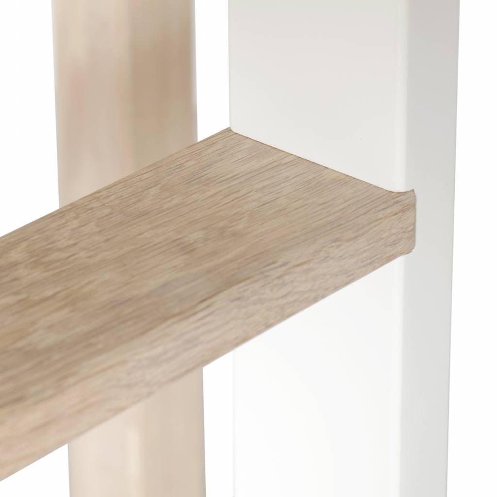 Oliver Furniture Halbhohes Bett Wood Eiche Mit Leiter Vorne Www