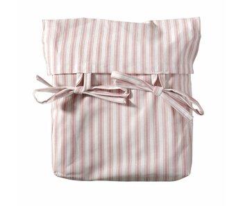 Oliver Furniture Wood Vorhang Set rosa gestreift