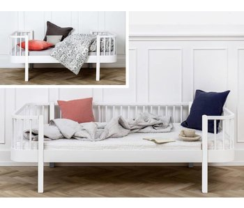 Oliver Furniture Umbau Juniorbett zum Bettsofa Wood weiß