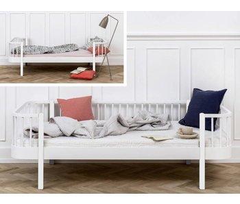 Oliver Furniture Umbau Einzelbett zum Bettsofa Wood weiß