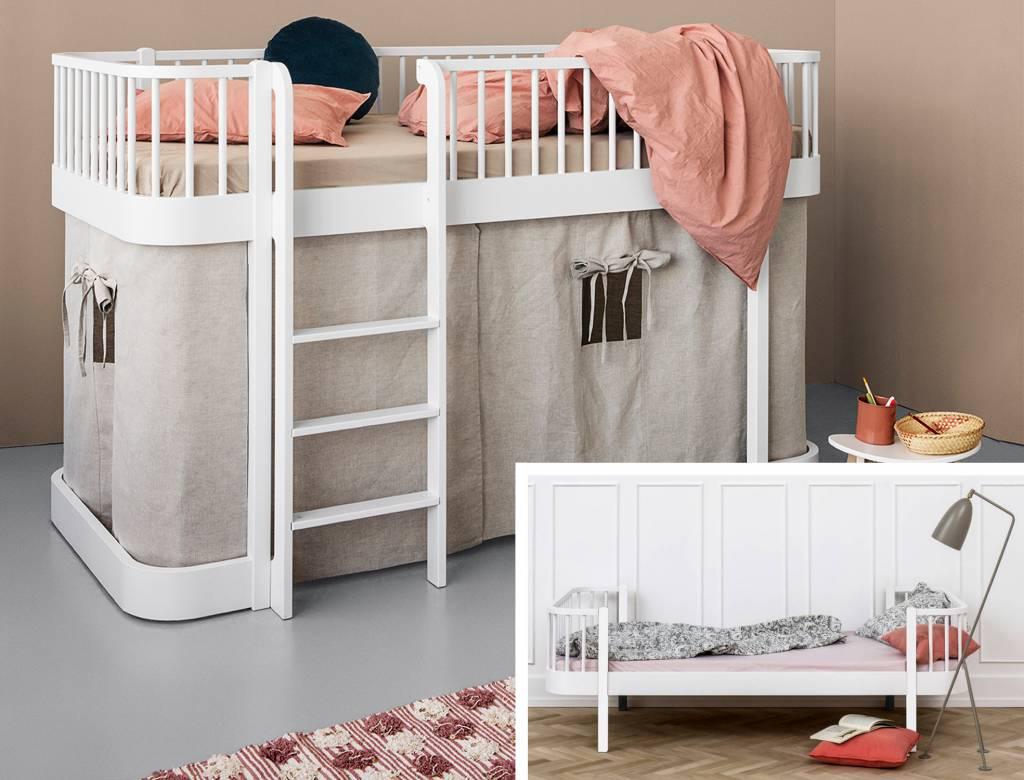 Anspruchsvoll Bett Einzelbett Beste Wahl Oliver Furniture Atz Vom Zum Halbhohen Wood