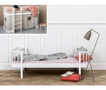 Oliver Furniture Umbau halbhohes Bett zum Einzelbett Wood weiß