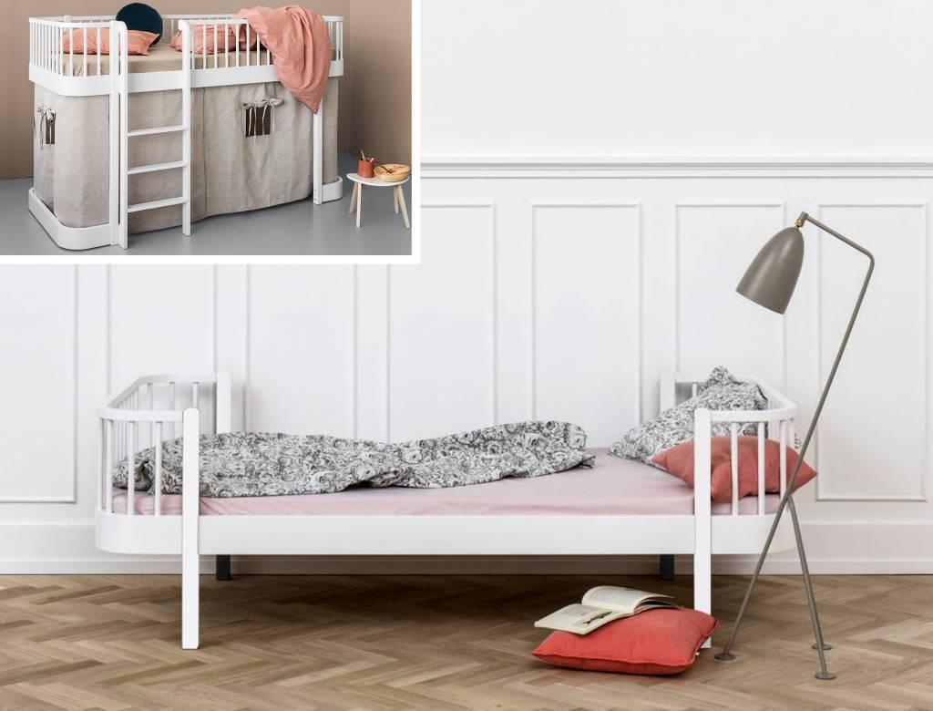 oliver furniture umbausatz vom halbhohen bett zum. Black Bedroom Furniture Sets. Home Design Ideas