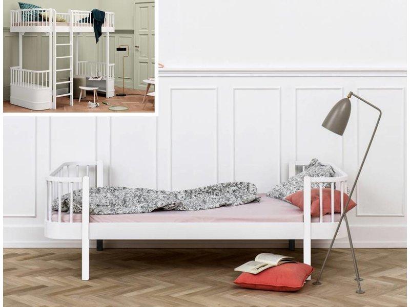 ... Oliver Furniture Umbausatz Vom Hochbett Zum Einzelbett Wood Weiß