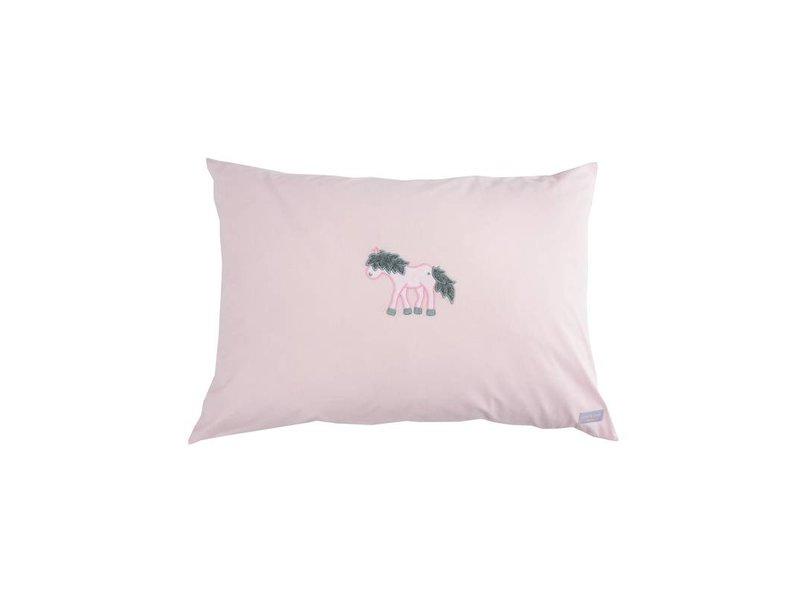 Annette Frank Spielkissen Pony rosa 50 x 70 cm