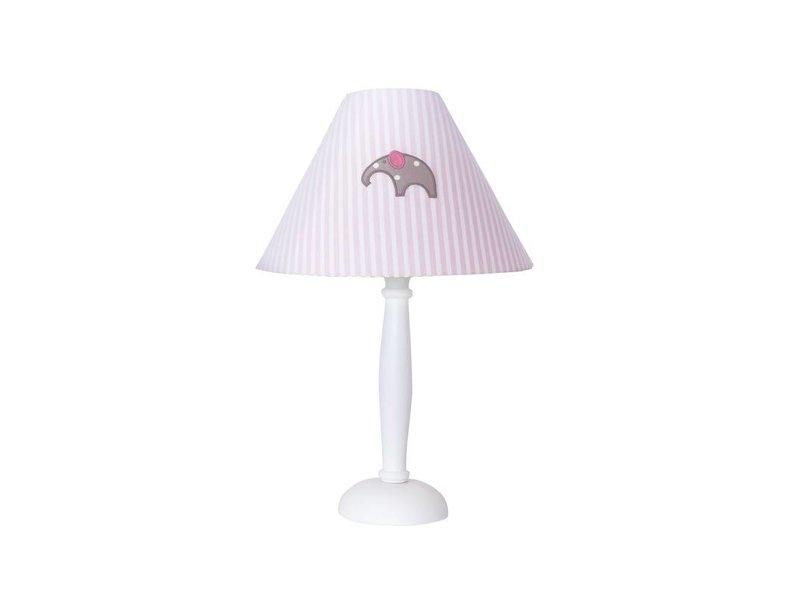 Annette Frank Tischlampe Elefant rosa groß