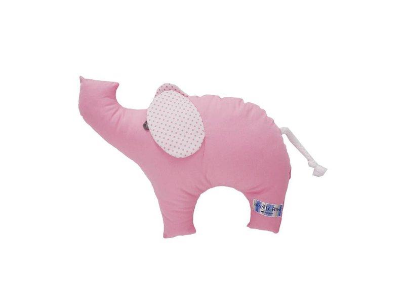 Annette Frank Kuschelfigur Elefant rosa