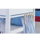 Annette Frank Vorhang Spielbett Pastille rot 120 x 80 cm