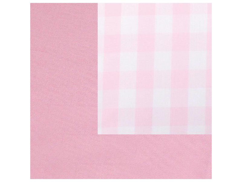 Annette Frank Utensilo-Rückwand Maxikaro rosa 200 x 85 cm