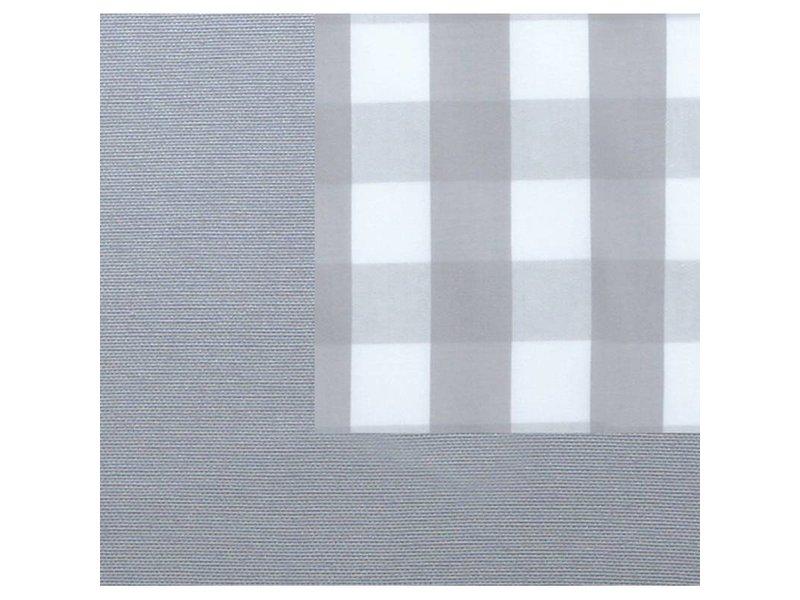 Annette Frank Utensilo-Rückwand Maxikaro grau 200 x 85 cm