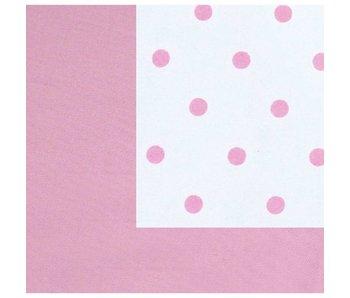 Annette Frank Utensilo-Rückwand Punkte rosa