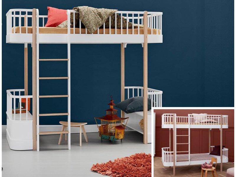 Etagenbett Oliver : Oliver furniture kinderzimmer hochbett wood weiß cm bei