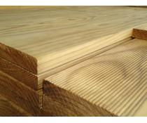 Vlonderplank verduurzaamd Radiata Pine 28x145mm