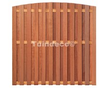 Tuinscherm Groningen hardhout 1800x1800mm