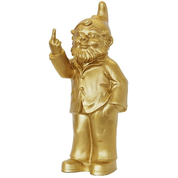 Sponti Gnome in Gold