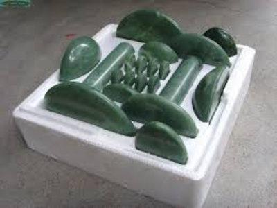 Set Jade stenen