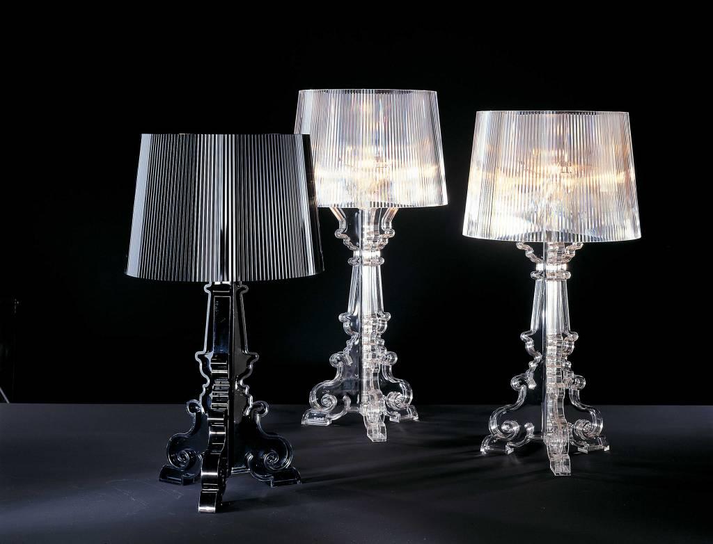 kartell bourgie by ferruccio laviani leuchte wohndekor m ller. Black Bedroom Furniture Sets. Home Design Ideas