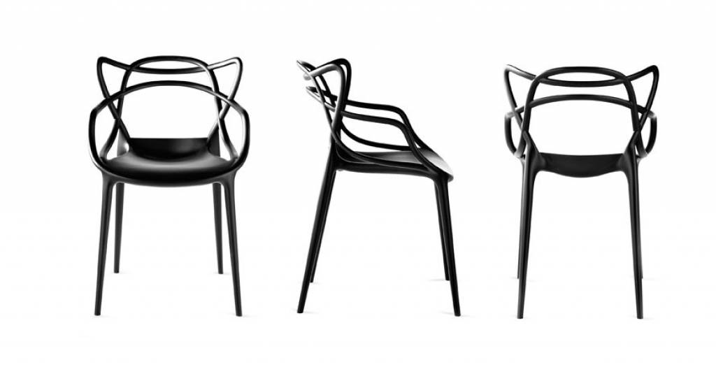 Elegant Kartell Stuhl Masters By Philippe Starck Mit Eugeni Quitllet