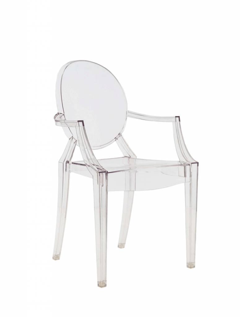 Kartell Louis Ghost by Philippe Starck, glasklar - Wohndekor Müller