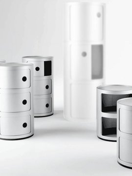 Kartell Componibili in weiss