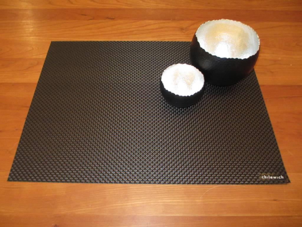 chilewich tischset basketweave black wohndekor m ller. Black Bedroom Furniture Sets. Home Design Ideas