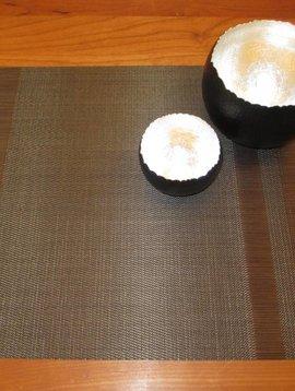 chilewich Tischset Tuxedo sable