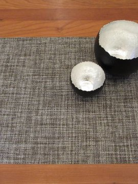 chilewich Tischset Boucle pebble