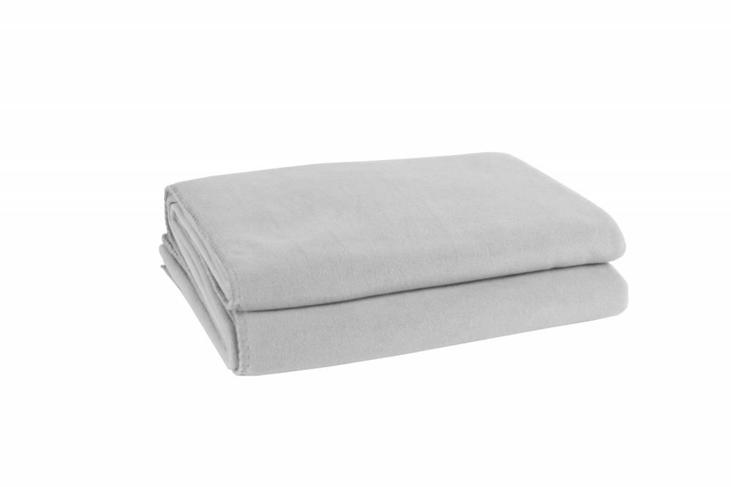 zoeppritz soft fleece 160x200 cm hellgrau farbe 920 wohndekor m ller. Black Bedroom Furniture Sets. Home Design Ideas